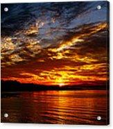 Clover Point Sunrise Acrylic Print