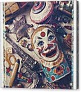 Clown Bank Acrylic Print