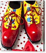 Clown Shoes  Acrylic Print