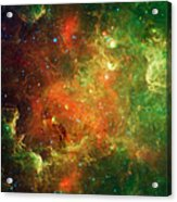 Clusters Of Young Stars In The North Acrylic Print
