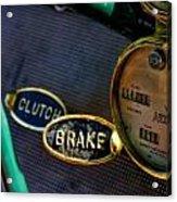 Clutch And Brake Acrylic Print