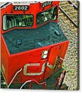Cn Train Cab Acrylic Print