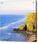 Co Derry, Ireland View Of Cliffs And Acrylic Print