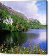 Co Galway, Ireland, Kylemore Abbey Acrylic Print