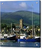 Co Kerry, Dingle Harbour Acrylic Print