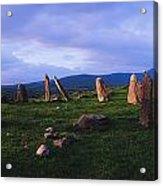 Co Kerry, Ireland, Stone Circle Acrylic Print