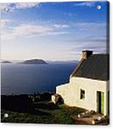 Co Kerry, Near Ballinskelligs, With Acrylic Print