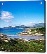 Co Kerry, Ring Of Kerry, Castlecove Acrylic Print