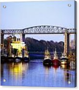 Co Louth, Drogheda And River Boyne Acrylic Print