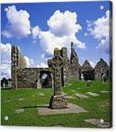 Co Offaly, Clonmacnoise Acrylic Print