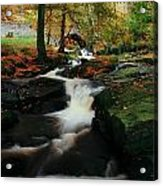 Co Wicklow, Ireland Waterfalll Near Acrylic Print