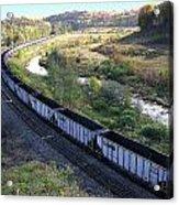 Coal Train - Johnstown  Acrylic Print