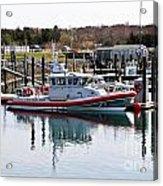 Coast Guard Acrylic Print by Extrospection Art
