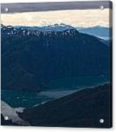 Coastal Range Fjords Acrylic Print