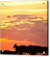 Coastal Sunset Boynton Beach Florida Acrylic Print