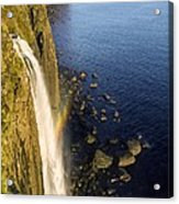 Coastal Waterfall Acrylic Print