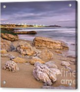 Coastline At Twilight Acrylic Print