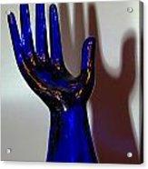 Cobalt Hand Acrylic Print