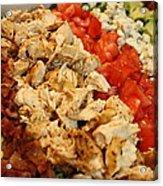 Cobb Salad Acrylic Print
