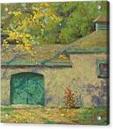 Cobblestone Barn Acrylic Print