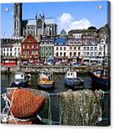 Cobh, Co Cork, Ireland, Cobh Cathedral Acrylic Print