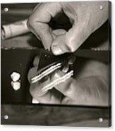Cocaine Use Acrylic Print