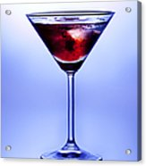 Cocktail Acrylic Print by Jane Rix