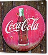 Coco Cola Sign Acrylic Print by Garry Gay