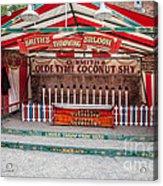 Coconut Shy Acrylic Print