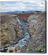 Cody Wyoming River Acrylic Print