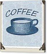 Coffee 1-2 Scrapbook Acrylic Print