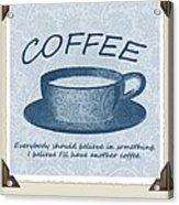 Coffee 1 Scrapbook Acrylic Print