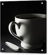 Coffee Cup Heart 2 A Acrylic Print