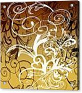 Coffee Flowers 1 Calypso Acrylic Print