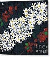 Coffee Flowers Acrylic Print