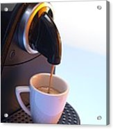 Coffee Machine Acrylic Print