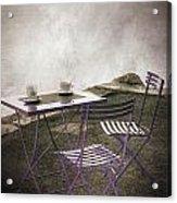 Coffee Table Acrylic Print by Joana Kruse