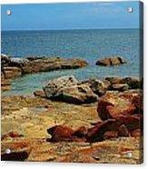 Coffin Bay Np 02 Acrylic Print by David Barringhaus