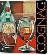Cognac Poster Acrylic Print