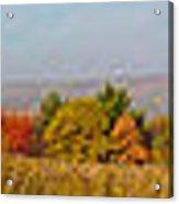 Cohocton Panorama Acrylic Print