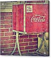 Coke Box Acrylic Print