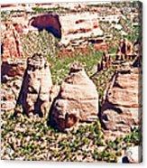 Coke Ovens - Colorado National Monument Acrylic Print