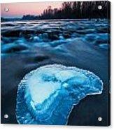 Cold Blue Acrylic Print