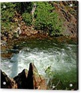Cold Creek Waters Glen Alpine Creek Acrylic Print