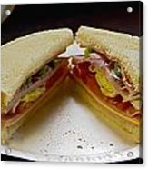 Cold Cut Sandwich Acrylic Print