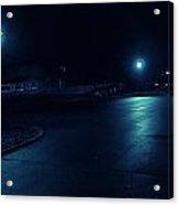 Cold Light At Night Acrylic Print
