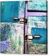 Cold Locker Acrylic Print