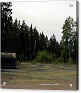 Cold War Hiway Fuel Dump Acrylic Print