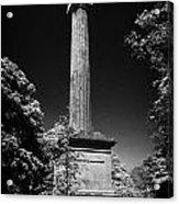 Cole Memorial Monument Enniskillen Acrylic Print