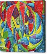 Colibri Acrylic Print by Joseph Edward Allen